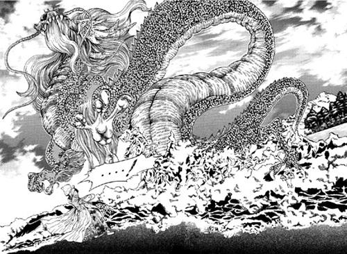 Le dieu dragon !!